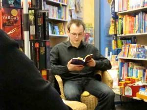 Lesung aus dem Roman SUPERIOR, 2012