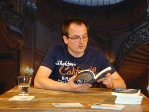 Lesung aus dem Roman SHERLOCK HOLMES TAUCHT AB auf der SherloCon 2012