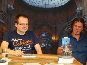 Lesung mit Tobias Bachmann aus dem Roman SHERLOCK HOLMES TAUCHT AB auf der SherloCon 2012