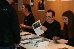 Mit Oliver Plaschka und Tanya Carpenter