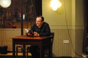 Lesung aus dem Roman SHERLOCK HOLMES TAUCHT AB im Kulturcafé Knicklicht 2013