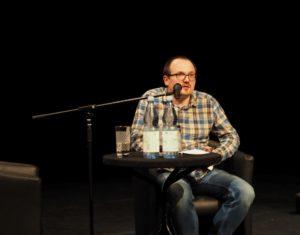 Lesung aus DIE VERSCHWÖRUNG DER SCHATTEN im Leipziger Theater LOFFT.