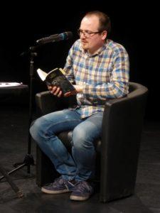 Lesung aus DIE VERSCHWÖRUNG DER SCHATTEN im Leipziger Theater LOFFT