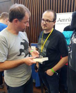 Mit Jürgen Eglseer vom Amrun Verlag