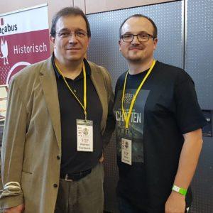 Mit dem legendären und einzigartigen Andreas Eschbach
