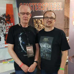 Mit Wolfgang Brandt vom Geisterspiegel